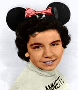 Annette funicello mickey mouse club color
