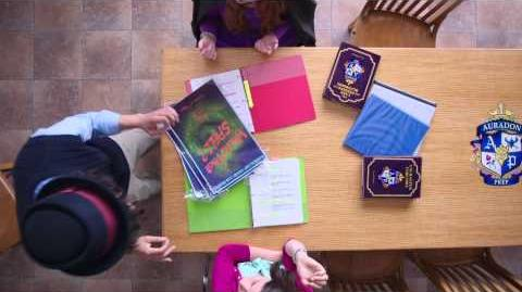 Day 9 Play School of Secrets Disney Descendants