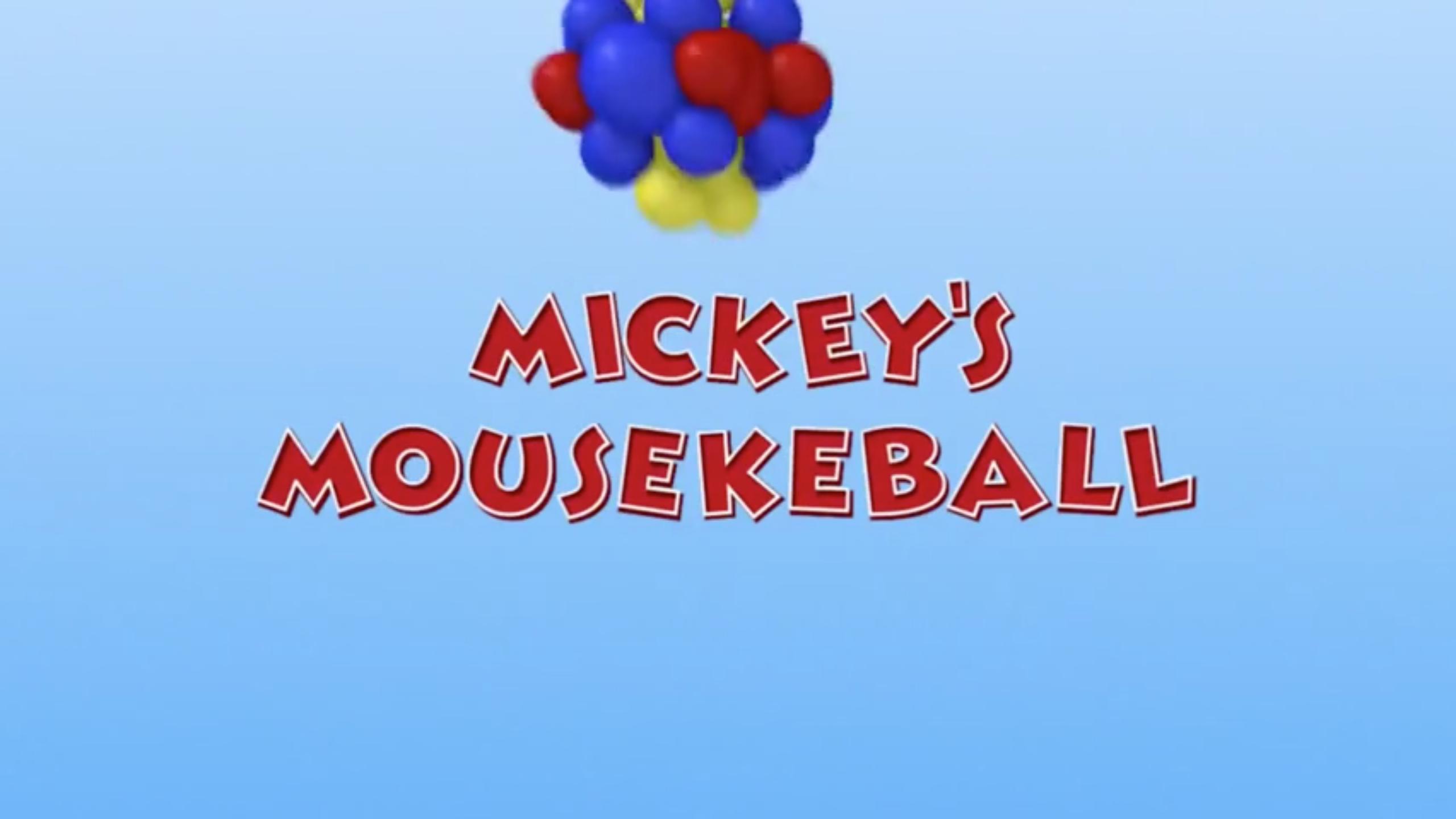 Mickey's Mousekeball