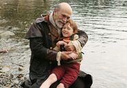 Once Upon a Time - 1x20 - The Stranger - Photography - Geppetto and Pinocchio