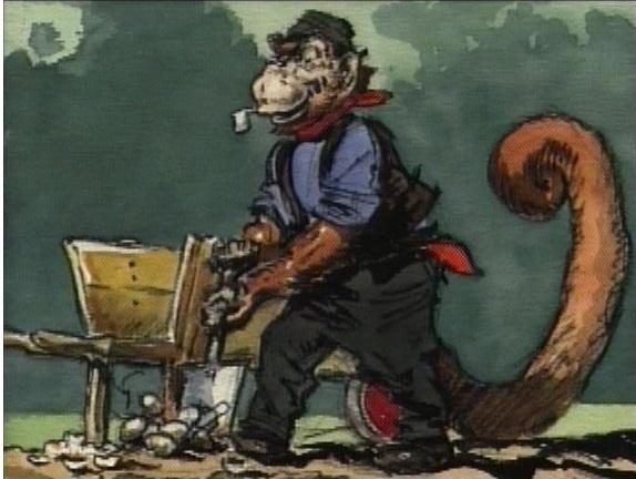 The Monkey (Alice in Wonderland)