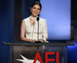 Anna Kendrick speaks at AFI Awards