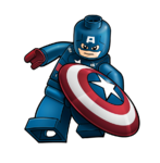Captain America Legoart