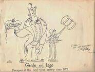 Genie Iago by Eric Goldberg