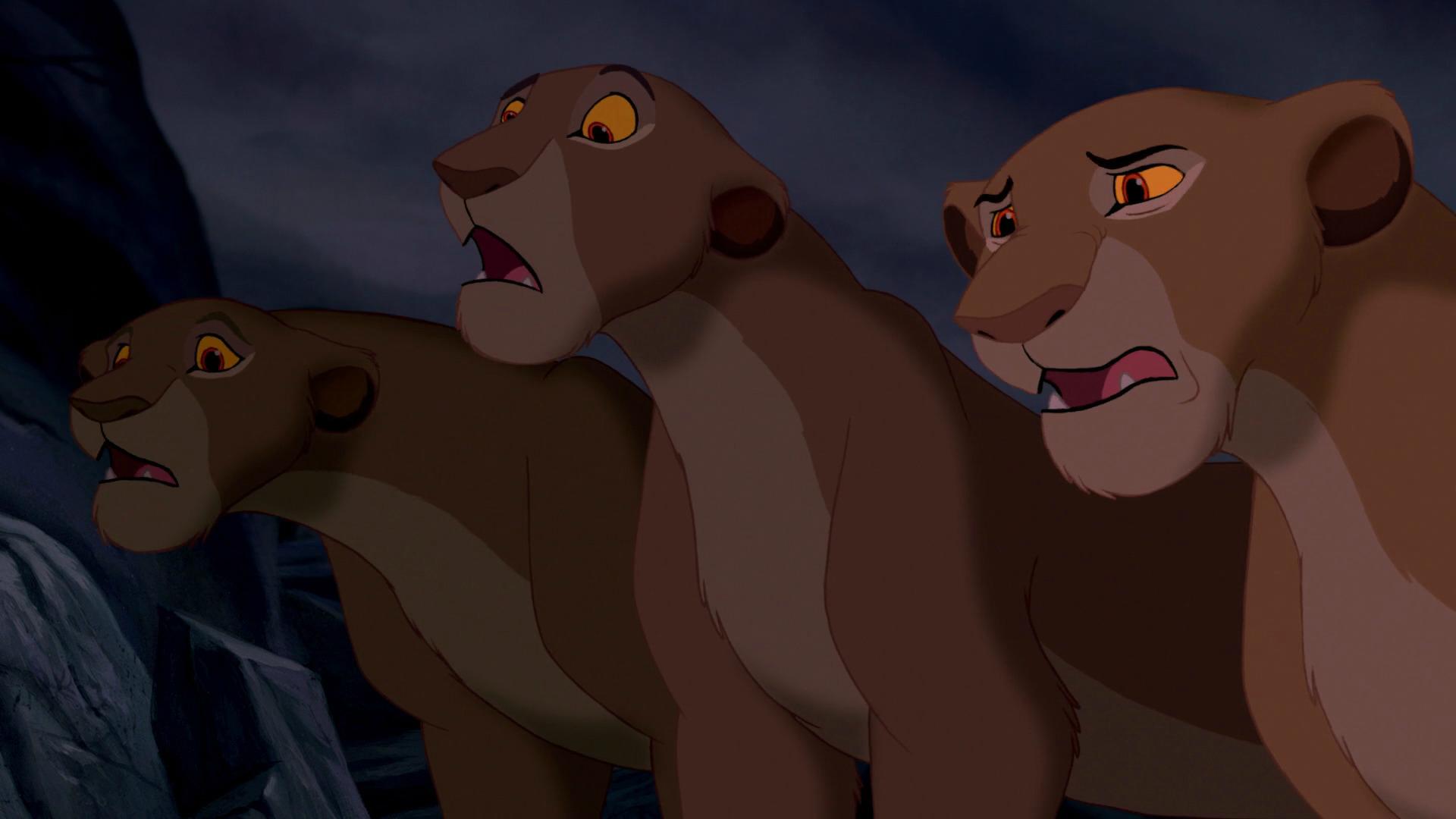 Leoas (O Rei Leão)