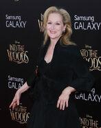 Meryl Streep Into the Woods premiere