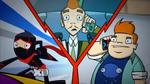 Mort-al Combat - Ninja, Mort and Howard