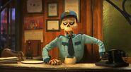 The Arrival Agent in Pixar Popcorn