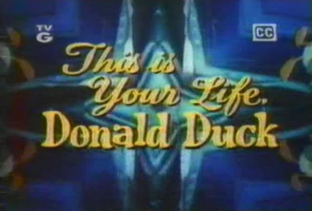 This is Your Life, Donald Duck (Walt Disney Presents episode)