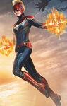 Captain Marvel helmet promo 1