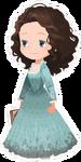 Carina Smyth Costume Kingdom Hearts χ