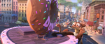 Herzog von Pitzbühl am Donut Laden