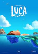 Luca spanish poster