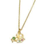 Necklace Amulet Pendant Silhouette Ariel