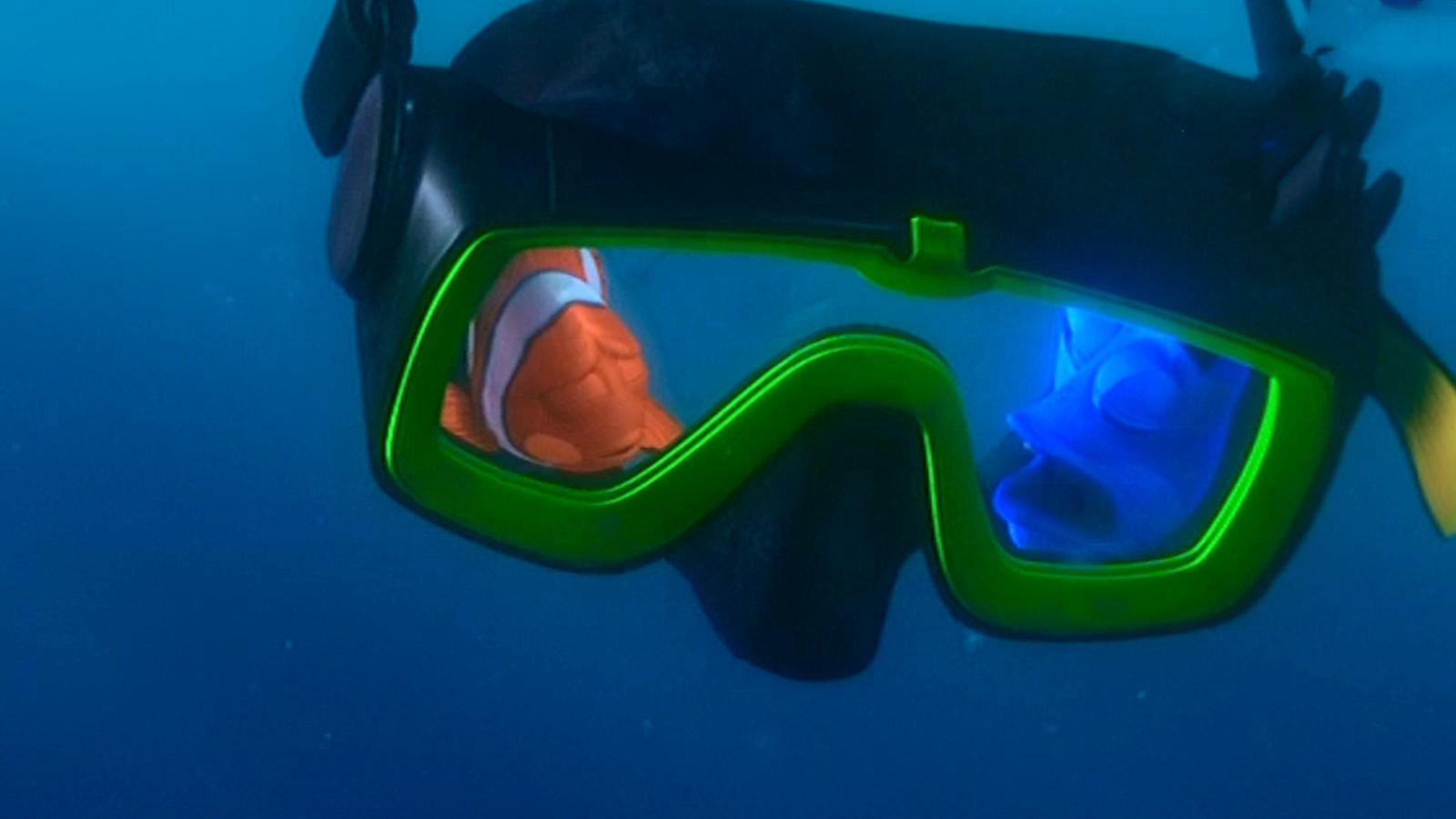 P. Sherman's Diver Mask