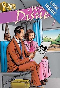 Walt Disney, Graphic Biography (Saddleback Graphic Biographies)