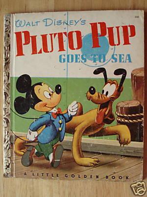 Pluto Pup Goes to Sea