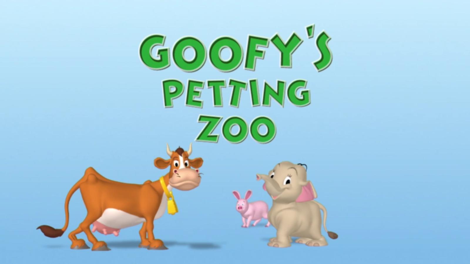 Goofy's Petting Zoo
