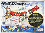 Melody time uk poster