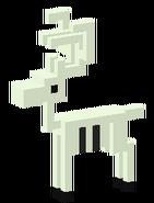 Skeletal Reindeeer