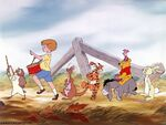 The Many Adventures of Winnie the Pooh characters