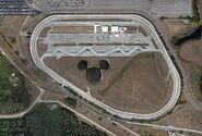 Aerial view of Walt Disney World Speedway