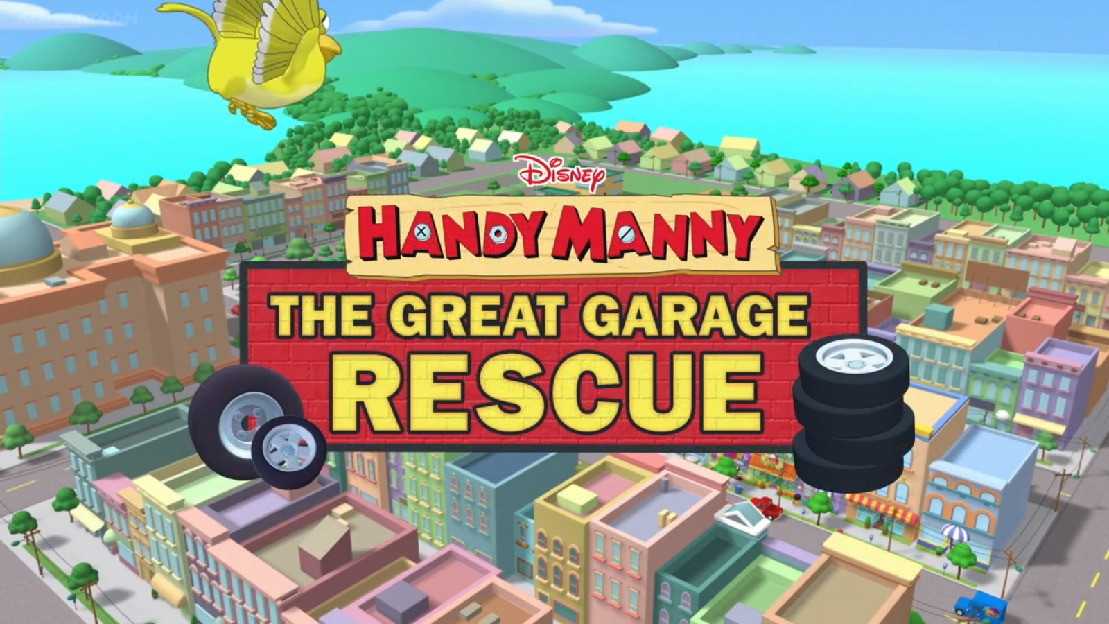 Handy Manny: The Great Garage Rescue