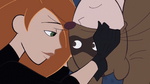 Kim Possible spoofs Spider-Man
