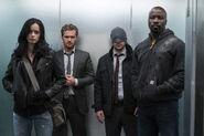 The Defenders - 1x03 - Worst Behavior - Photography - Jessica, Danny, Matt and Luke