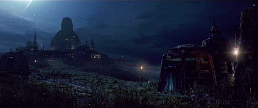 Luke Skywalker's Jedi Temple