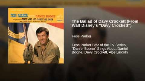 "The Ballad of Davy Crockett (From Walt Disney's ""Davy Crockett"")"
