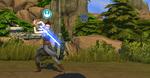 The Sims 4 Star Wars Journey to Batuu - Rey training