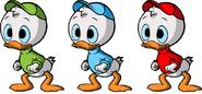 Tupu, Hupu ja Lupu DuckTales