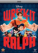 Wreck-It Ralph DVD Cover