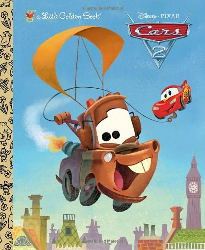 Cars 2 (Little Golden Book)