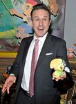 David Arquette Skully plush toy