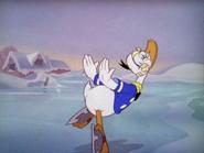 Donald ice skating