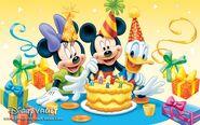 Mickey's Birthday 1280x800