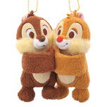 Stuffed Toy Chip&Dale Hug keyholder keychain with