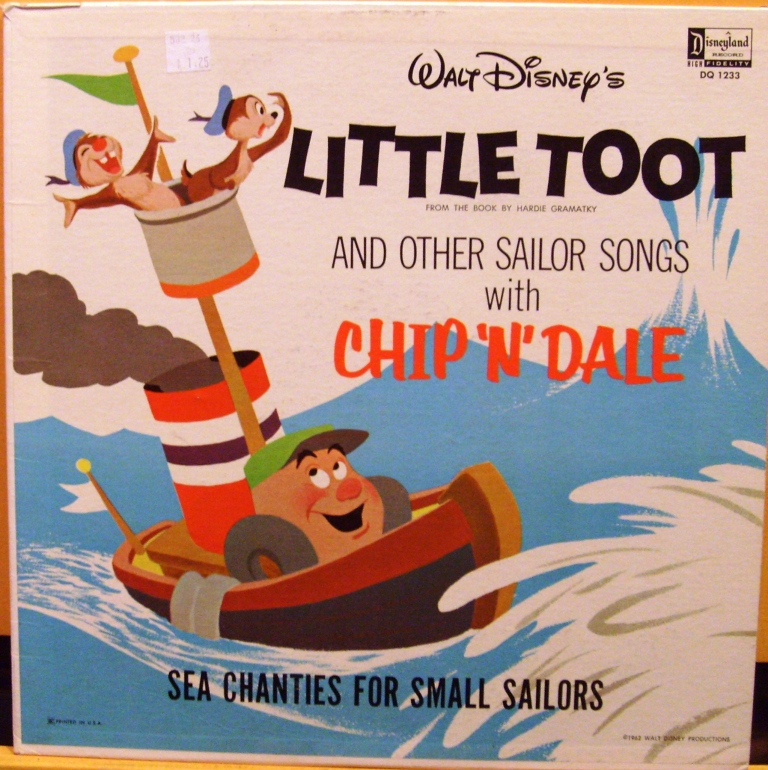Little Toot and Other Sailor Songs with Chip 'n' Dale