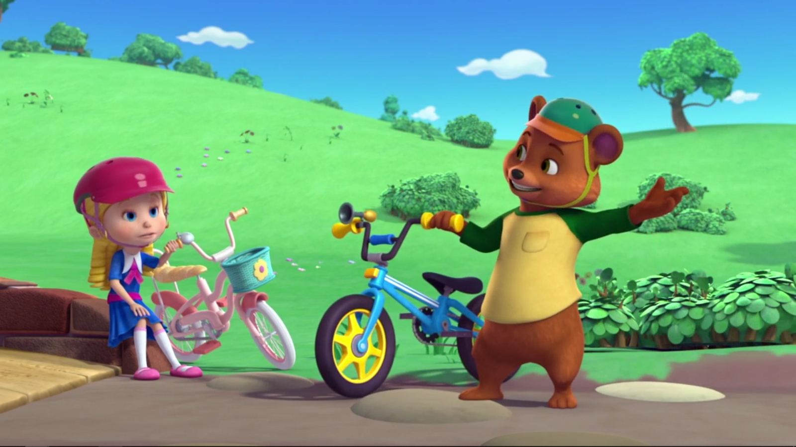 Bear's Guide to Riding a Bike