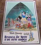 Snow white brazil poster 1977