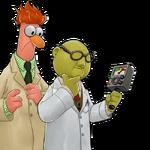 DHBM Dr. Bunsen Honeydew and Beaker
