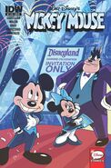 MickeyMouse issue 310 Disneyland cover