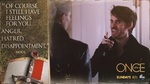 Once Upon a Time - 5x10 - Broken Heart - Hook - Quote - Of Course I Still Have Feelings For You