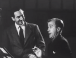 Walt Disney and Billy Bletcher