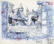 Background layout 2 - Castle Interior