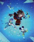 Kingdom Hearts Dream Drop Distance opening artwork