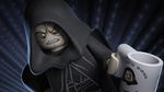 Palpatine falls - The LEGO Star Wars Holiday Special