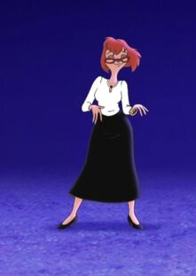 Sylvia Marpole an extremely goofy movie ending